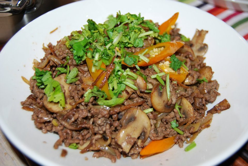 recipe: ginger ground beef [11]