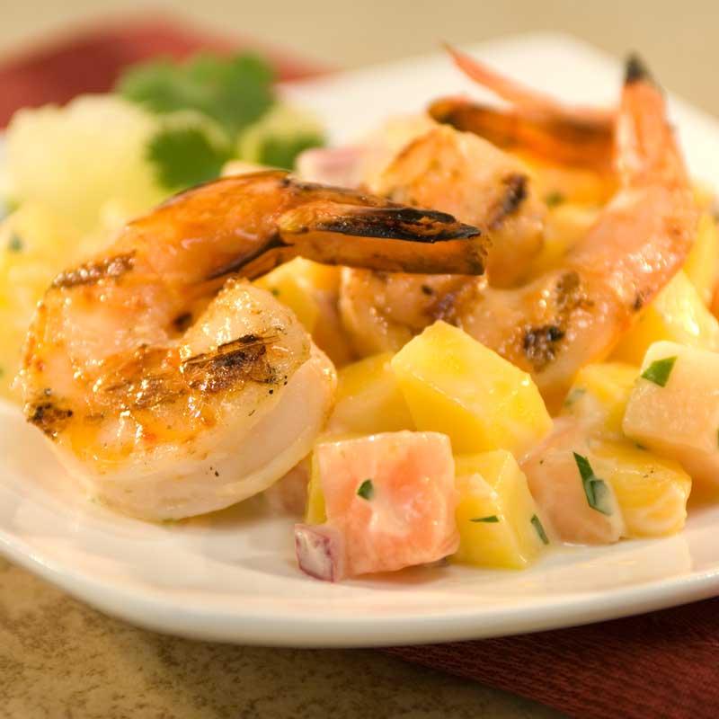 Recipe: Tropical Grilled Shrimp Cocktail