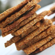 Roasted Red Pepper Crackers thumbnail